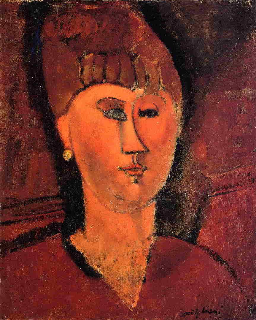 RT @artmodigliani: Head of Red-haired Woman, 1915 #modigliani #amedeomodigliani https://t.co/x5JdlzUs1P