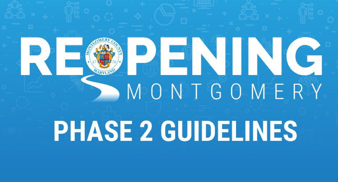 We have achieved another milestone in our fight against this pandemic. This is in large part due to the sacrifices of residents & guidance from our public health officials. However, we must remain vigilant.   Beginning May 28th, Phase 2 of the County's reopening will begin. ⬇️