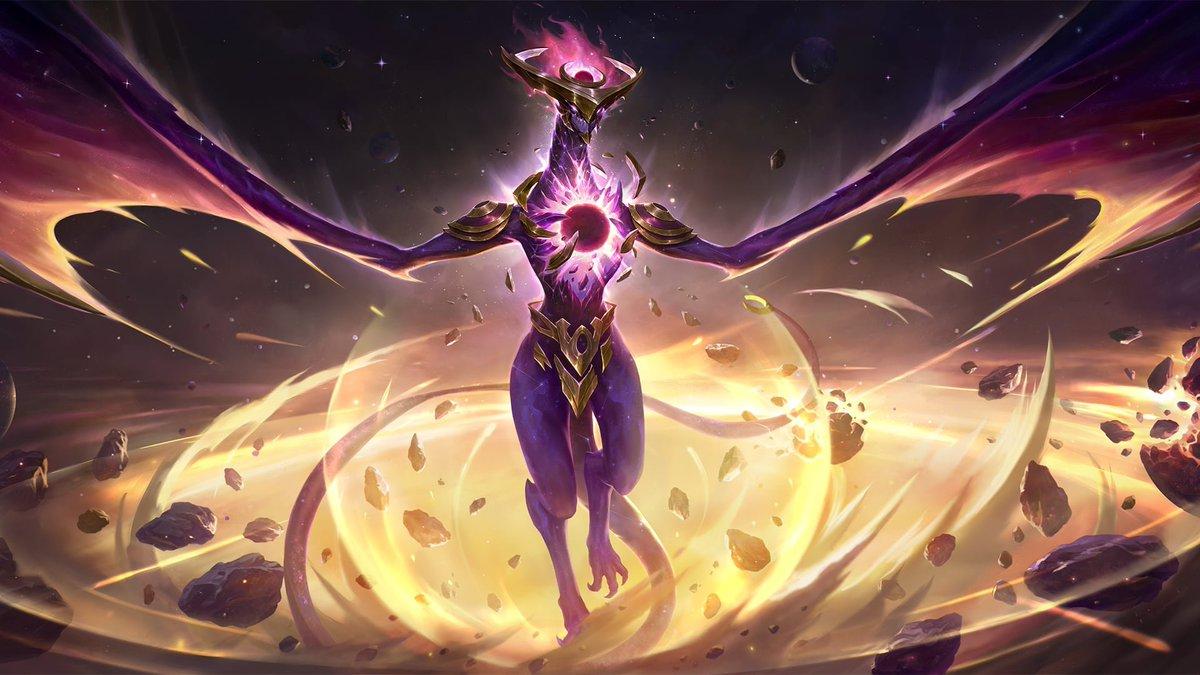 """Jumaralo Hex on Twitter: """"Dark Star Zed & Shyvana Full Artworks Nvl 1 and  Nvl 2 in Legends of Runeterra… """""""