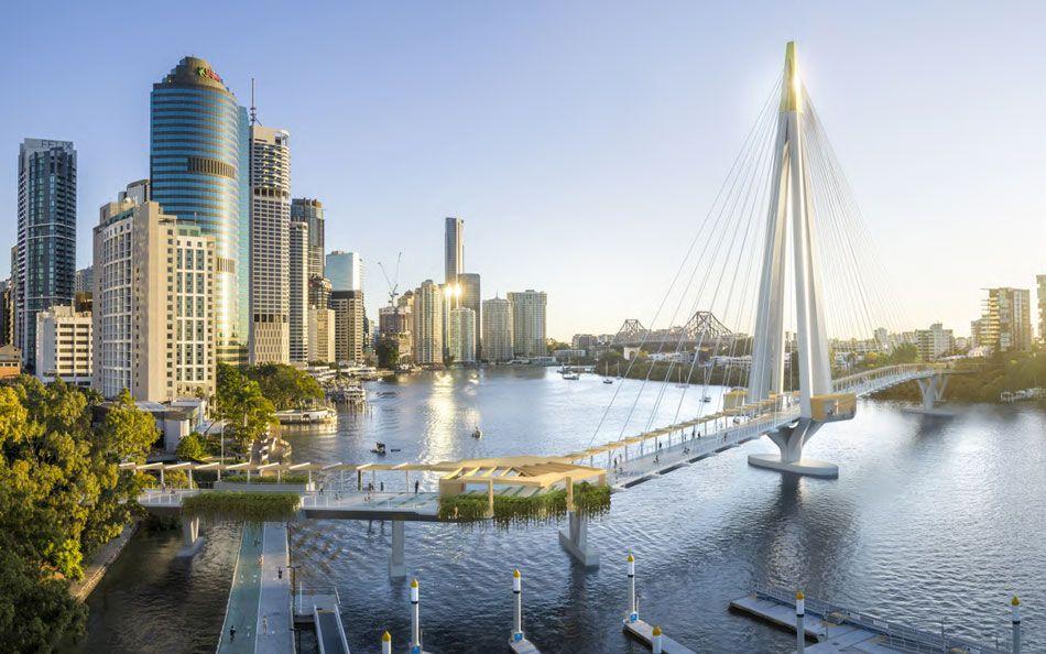 #BrisbaneCityCouncil has submitted a planning proposal for #KangarooPointGreenBridge connecting Alice Street in the CBD to Scott Street in Kangaroo Point.  #Australia #Brisbane #infrastructure #architecture #construction #sydneybuild #australiabuild #green #eco #ecoconstruction https://t.co/uZ3BvZeF0E
