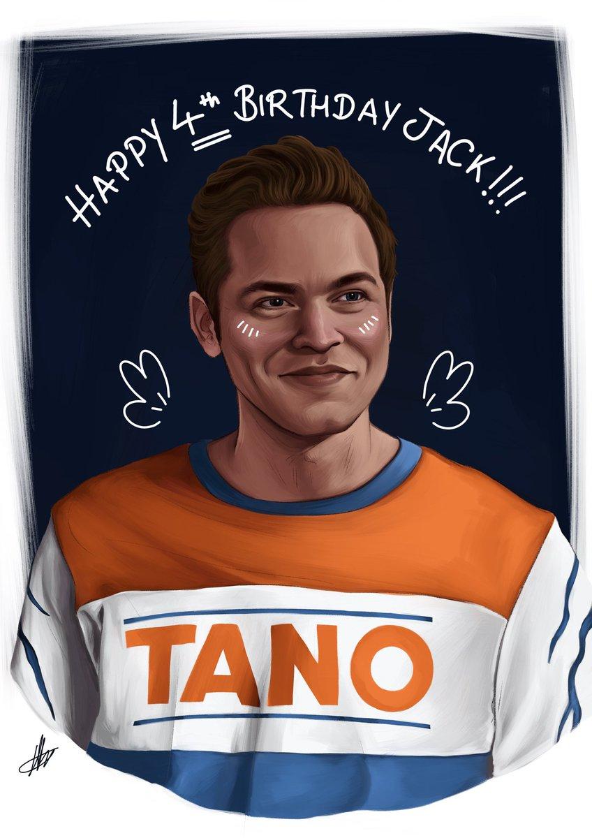 RT @drh0rrible: Happy Birthday Jack! Enjoy your new Ahsoka merch 🥰🧡💙 https://t.co/6zqFC3Tynk
