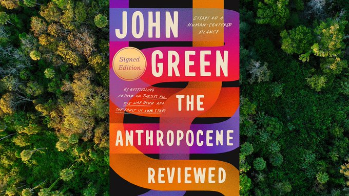 In The Anthropocene Reviewed, John Green appraises everything from plagues to Dr Pepper Photo