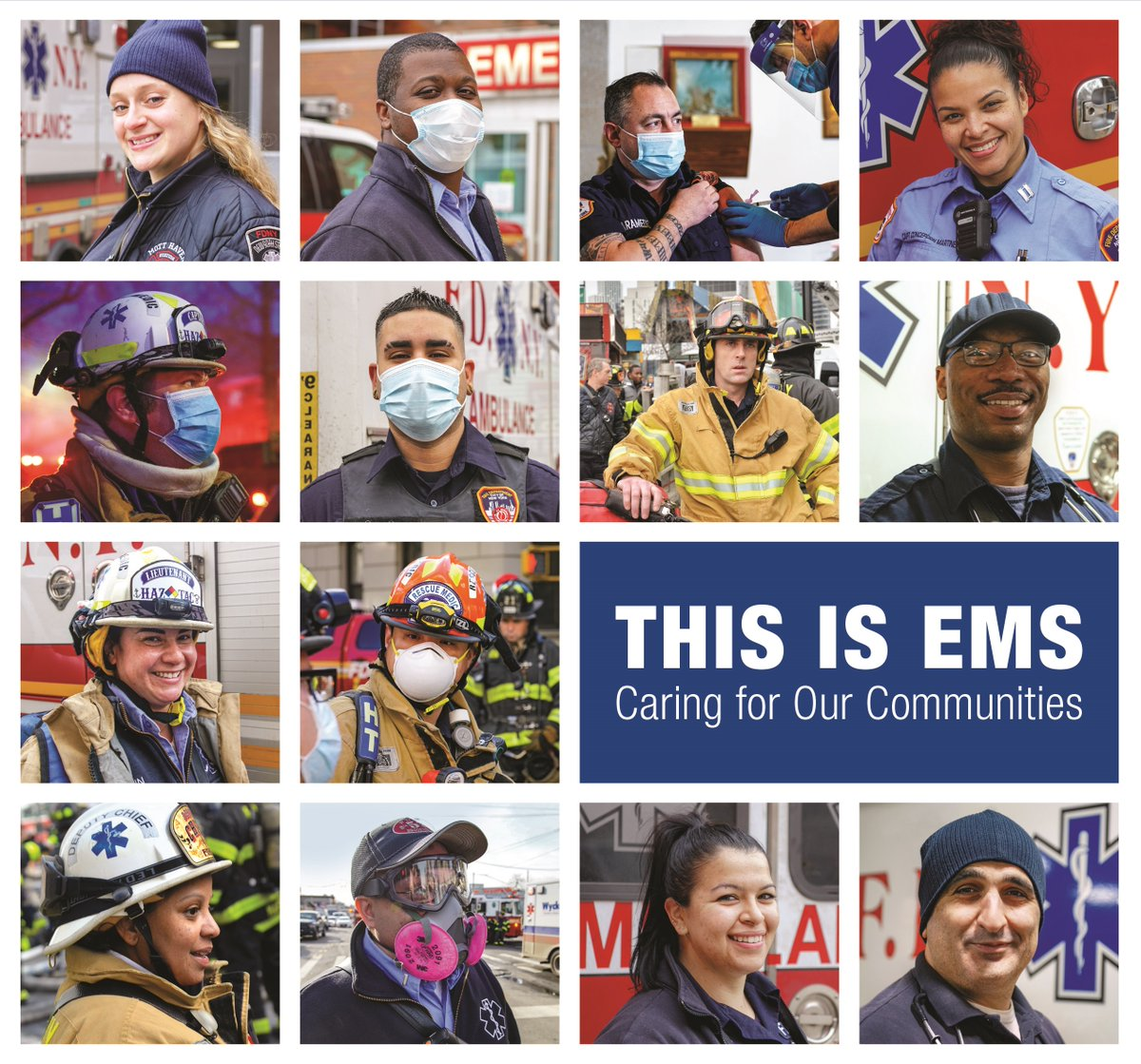 Take a moment this week to recognize the EMS practitioners hard at work in your community! 👏 👏 👏 https://t.co/1ujlIVV5my