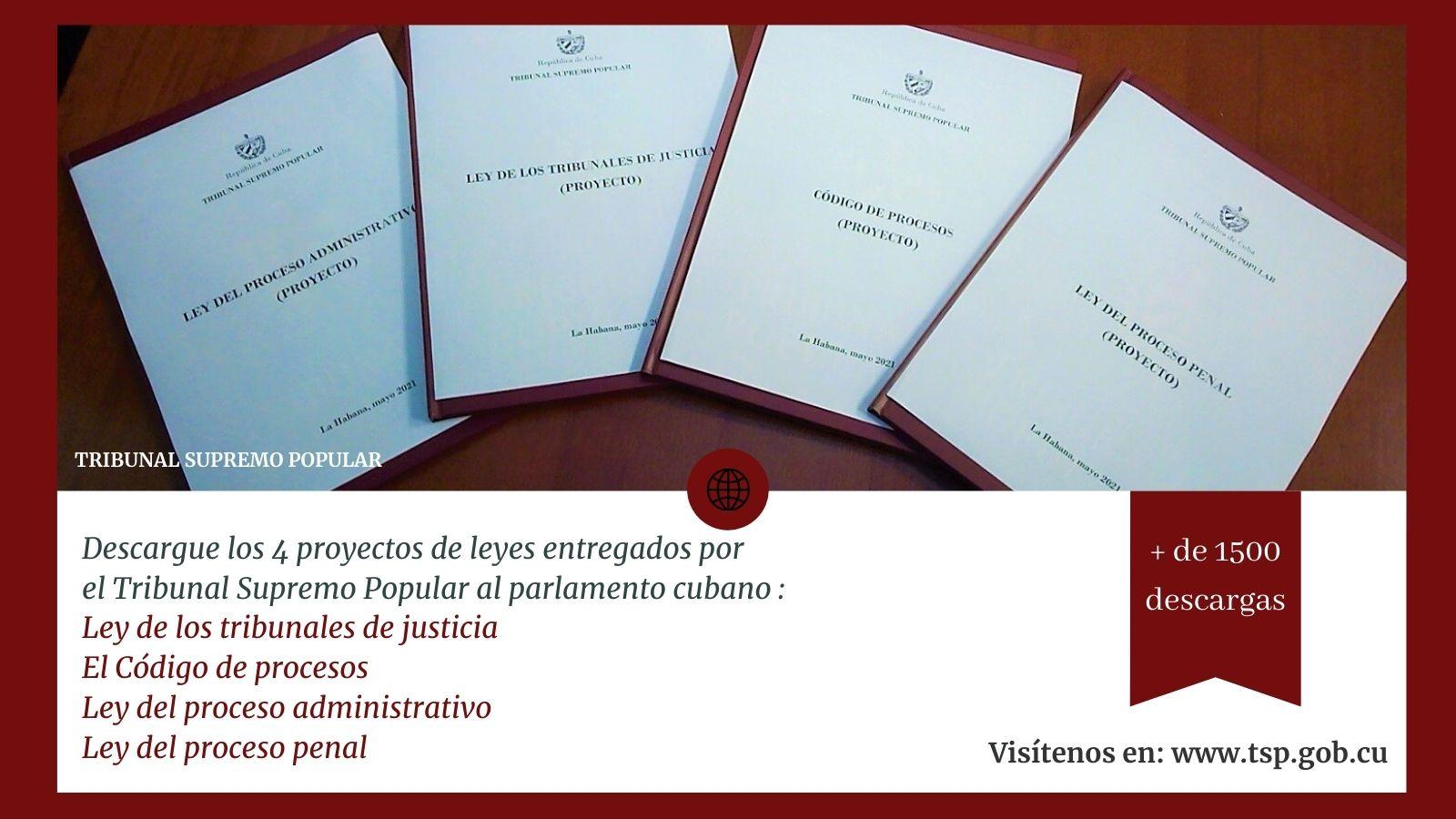 Analizan juristas camagüeyanos anteproyectos de leyes presentados por el Tribunal Supremo Popular