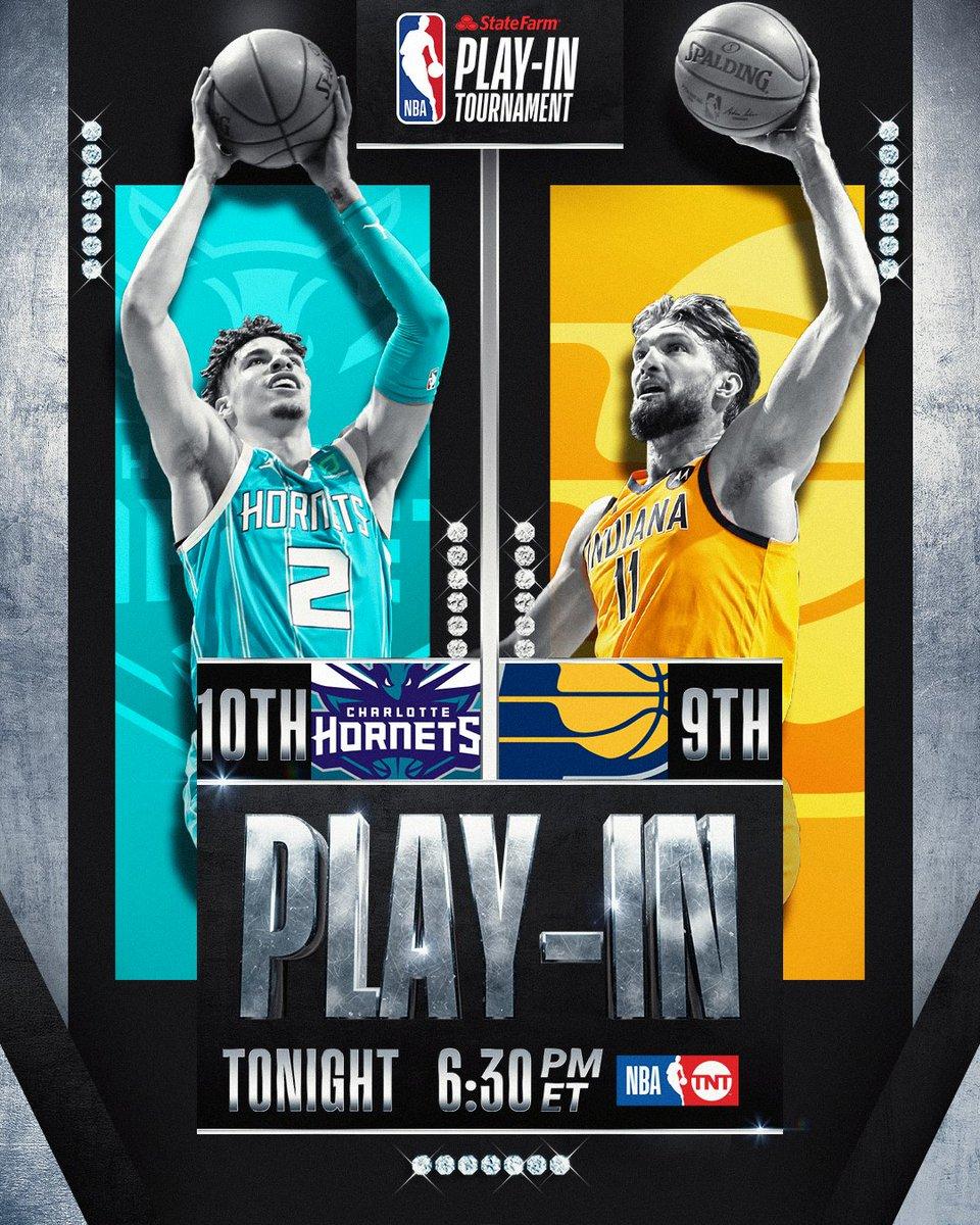 """Ja @NBA :n pudotuspelit käyntiin tänä yönä, ensimmäisten """"play-in"""" -matsien myötä. Ensimmäisenä tuleen @hornets ja @Pacers klo. 01:30 ja perään @WashWizards ja @celtics klo. 04:00. @RuutuUrheilu näyttää molemmat väännöt. 👀 #nba #NBAPlayoffs #StateFarmPlayIn #nbafi"""