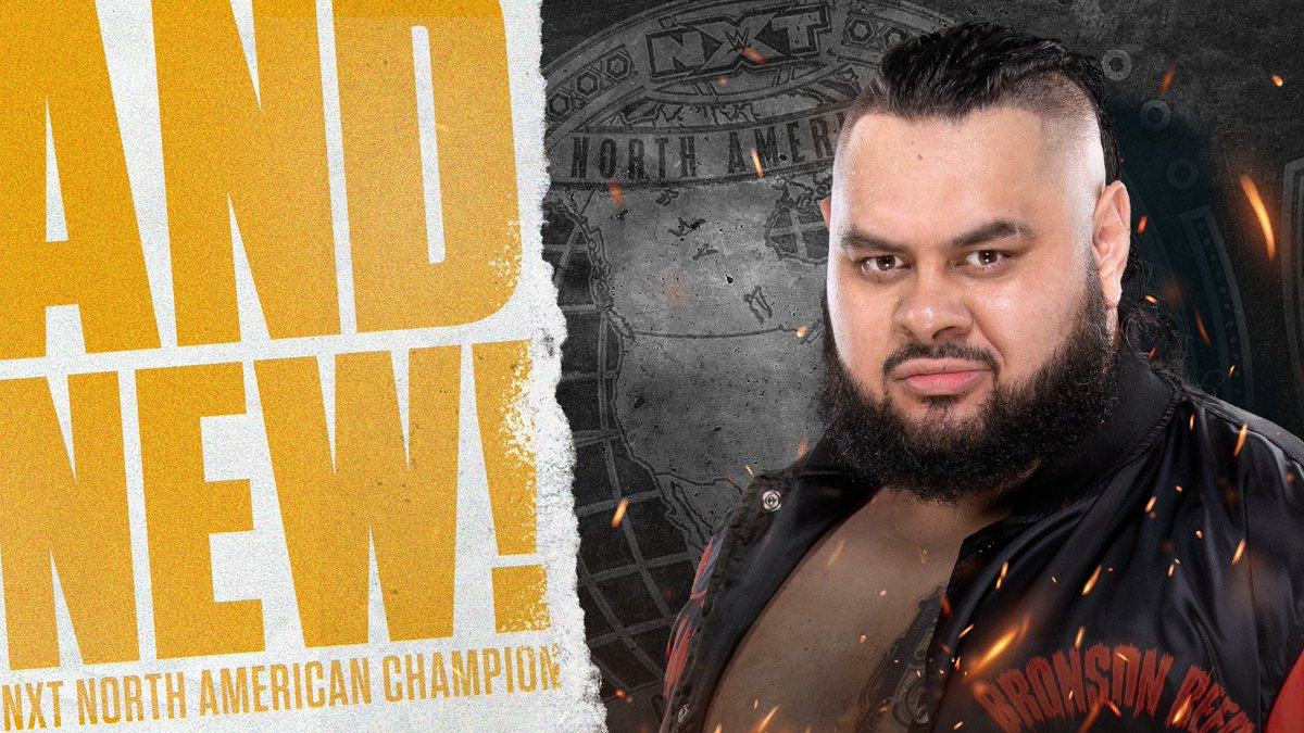 Bronson Reed Wins NXT North American Title