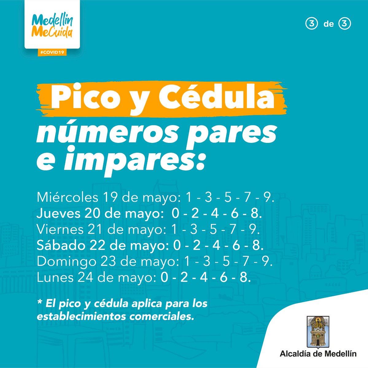 Alcaldia De Medellin On Twitter Atencion Estas Son Las Medidas Que Regiran En Nuestra Ciudad Desde Manana Y Hasta El Proximo Lunes Acogete A Ellas Compartelas Y Ayudanos A Salvar Mas