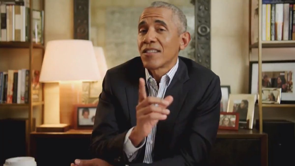 Members of the @latelateshow team asked for life advice from @BarackObama this here from Guillermo is great advice for all of us.  https://t.co/aSOKKHog8S