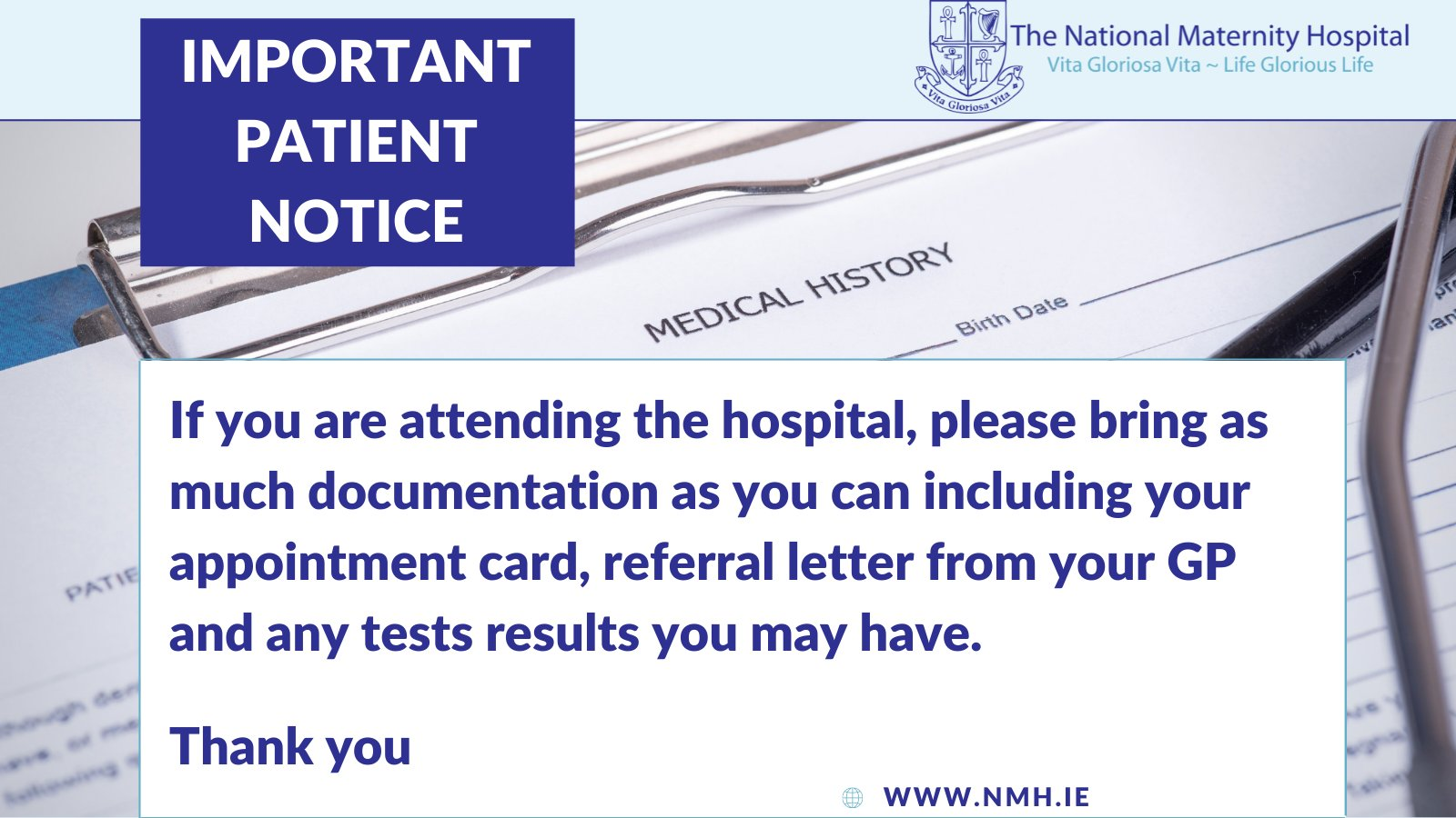 The National Maternity Hospital auf Twitter