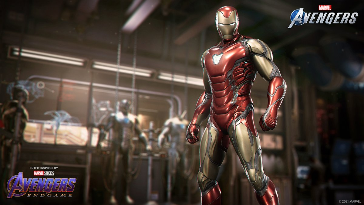Marvel S Avengers On Twitter He Is Iron Man Inspired By The Marvel Cinematic Universe Iron Man S Marvel Studios Avengers Endgame Outfit Shows What A Man With One Shot To Save The