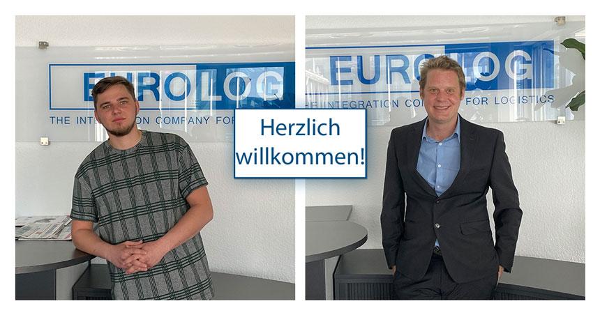 #welcomeonboard an unsere neuen #Kollegen Mathias (Partnermanagement) und Martin (Entwicklung)! Wir freuen uns sehr, dass ihr den Weg zu uns gefunden habt und wünschen euch viel Erfolg und Spaß bei EURO-LOG! #willkommen #welcome #neuekollegen #saycheese https://t.co/7Aln66yo1g