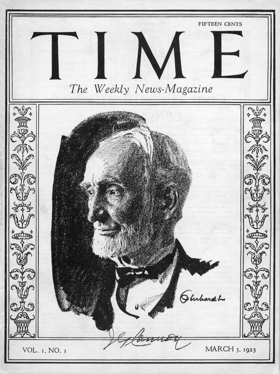 TIME First Issue - March 3, 1923  This NFT will be accompanied with the actual, physical first issue. This does not exist outside of museums, libraries and a few private collections.  Auction ends this Friday, May 21 around 8pm EST ⏱  Link: https://t.co/QAkDSE4oD5 https://t.co/oiXpcWngiJ