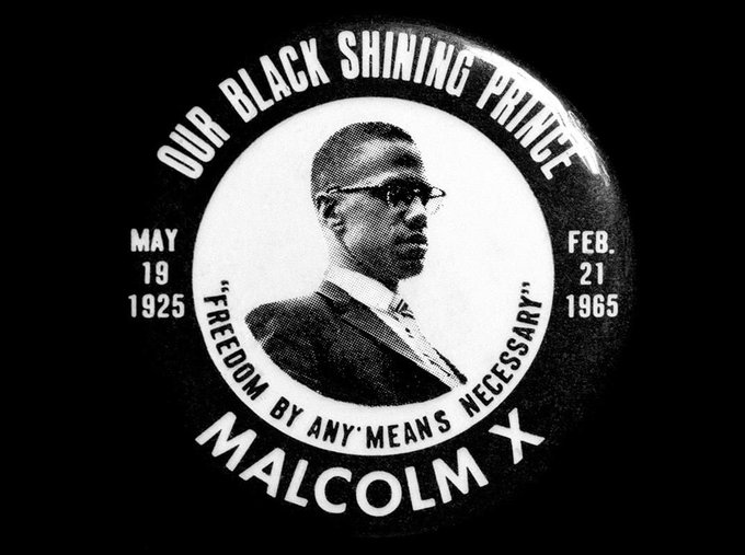 Happy Malcolm X Day! Happy Birthday to Malik El Shabazz, our Shining Black Prince