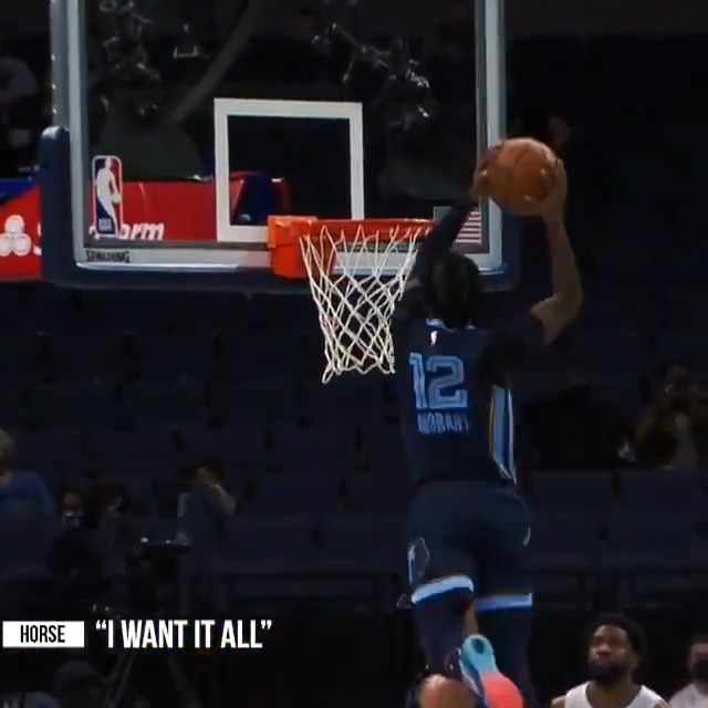 """Ja Morant's season #NBAMixtape! 🔥  @memgrizz need a WIN TO GET IN as they visit the Warriors in the #StateFarmPlayIn tonight at 9pm/et on ESPN.. winner will be West #8 seed in the #NBAPlayoffs.  🎶: """"I Want it All"""" by @HorseisBK 