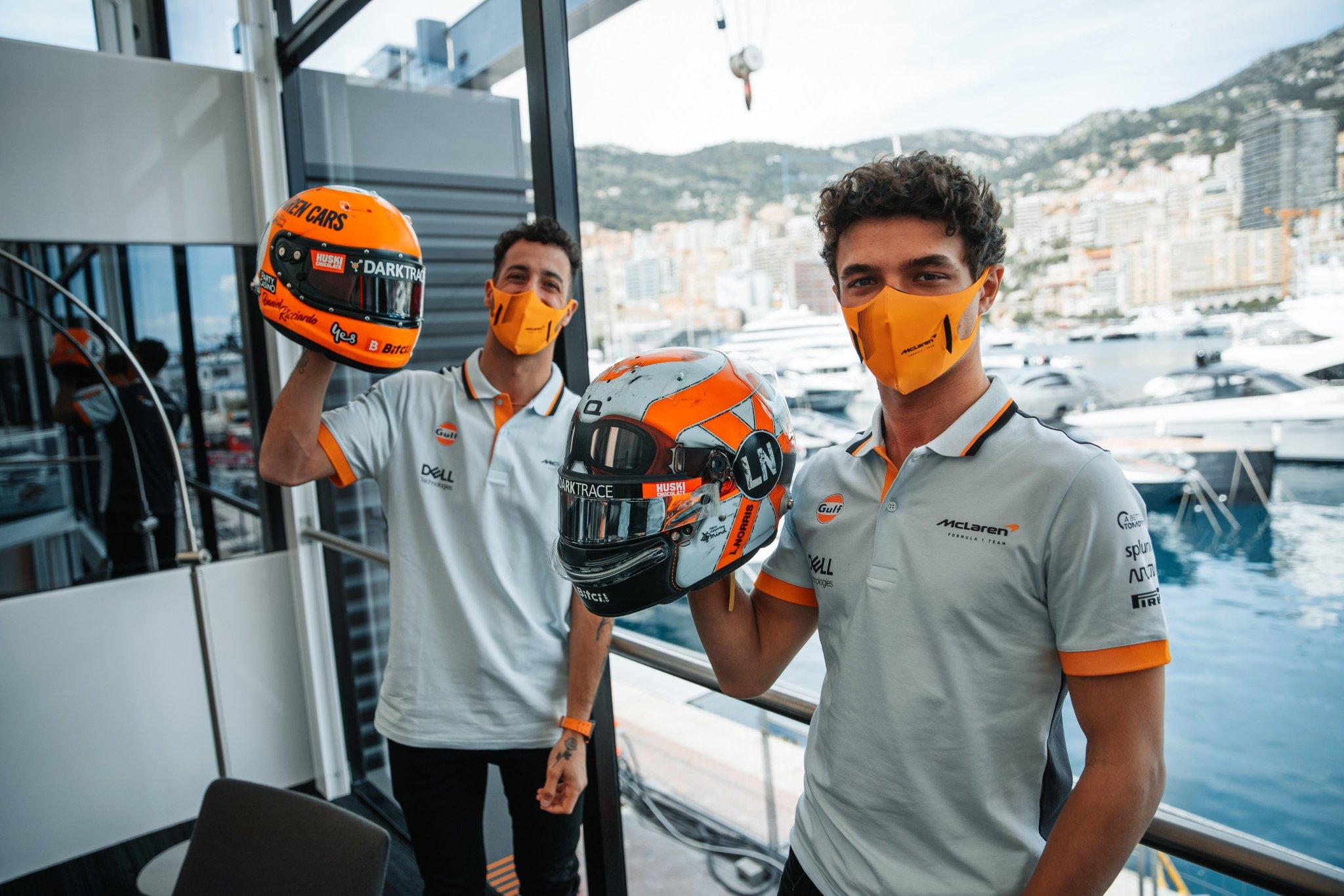 GP Monaco 2021 Anteprima McLaren
