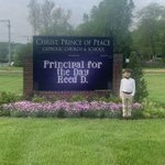 Image for the Tweet beginning: Congratulations to our Principal of