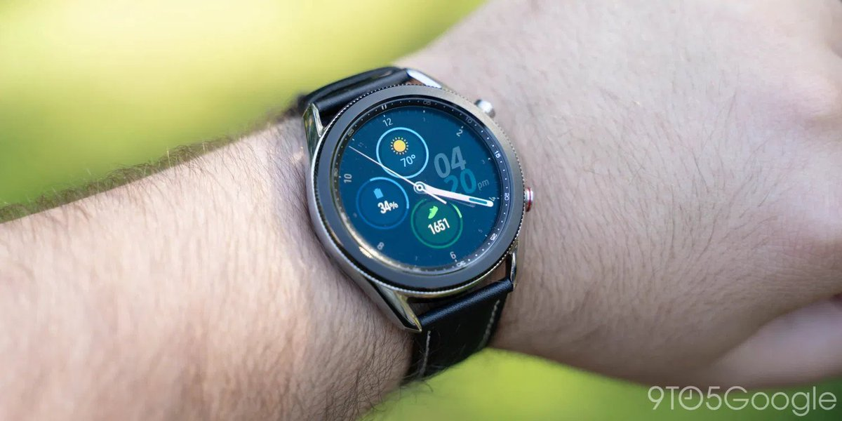 #Geek 🤓 Awesome of the Day ⭐ ➡️ #Samsung's LTE-enabled 45mm Galaxy #WristWatch⌚ 3 via @9to5toys #SamaWatch 🕗 #SamaGeek 🧐 ➡️ View More #SamaCollection 👉 https://t.co/Kugls3IJqU