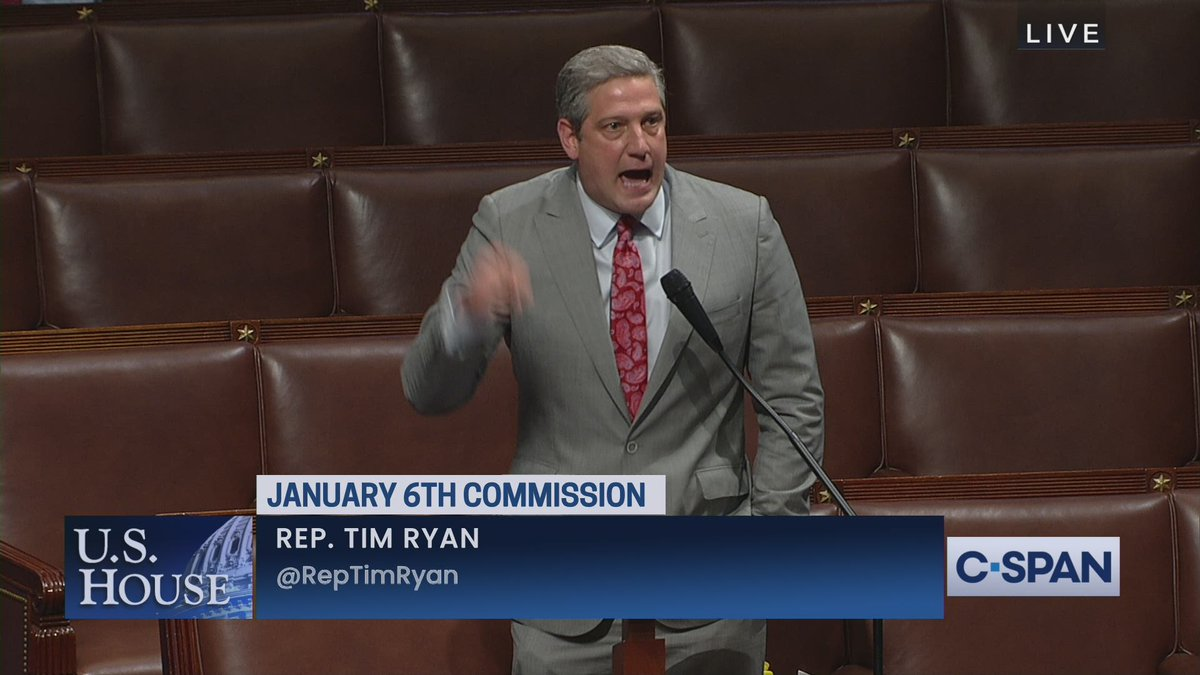 """Rep. Tim Ryan (D-OH) to Republicans: """"We need two political parties in this country that are both living in reality and you ain't one of them!"""" https://t.co/6J1WvmxJ7c"""