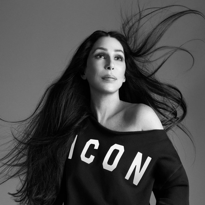 Happy birthday day to the legend, the icon, the moment... Cher