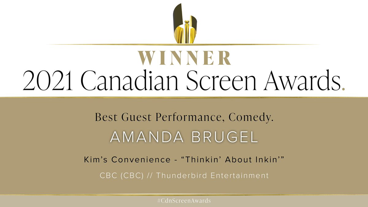 Congratulations @AmandaBrugel 👏🥳👏