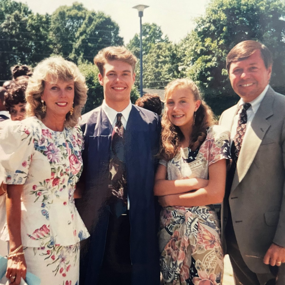 The day I got my high school diploma and mom earned her degree in fashion #tbt https://t.co/7WNFMlYY9k