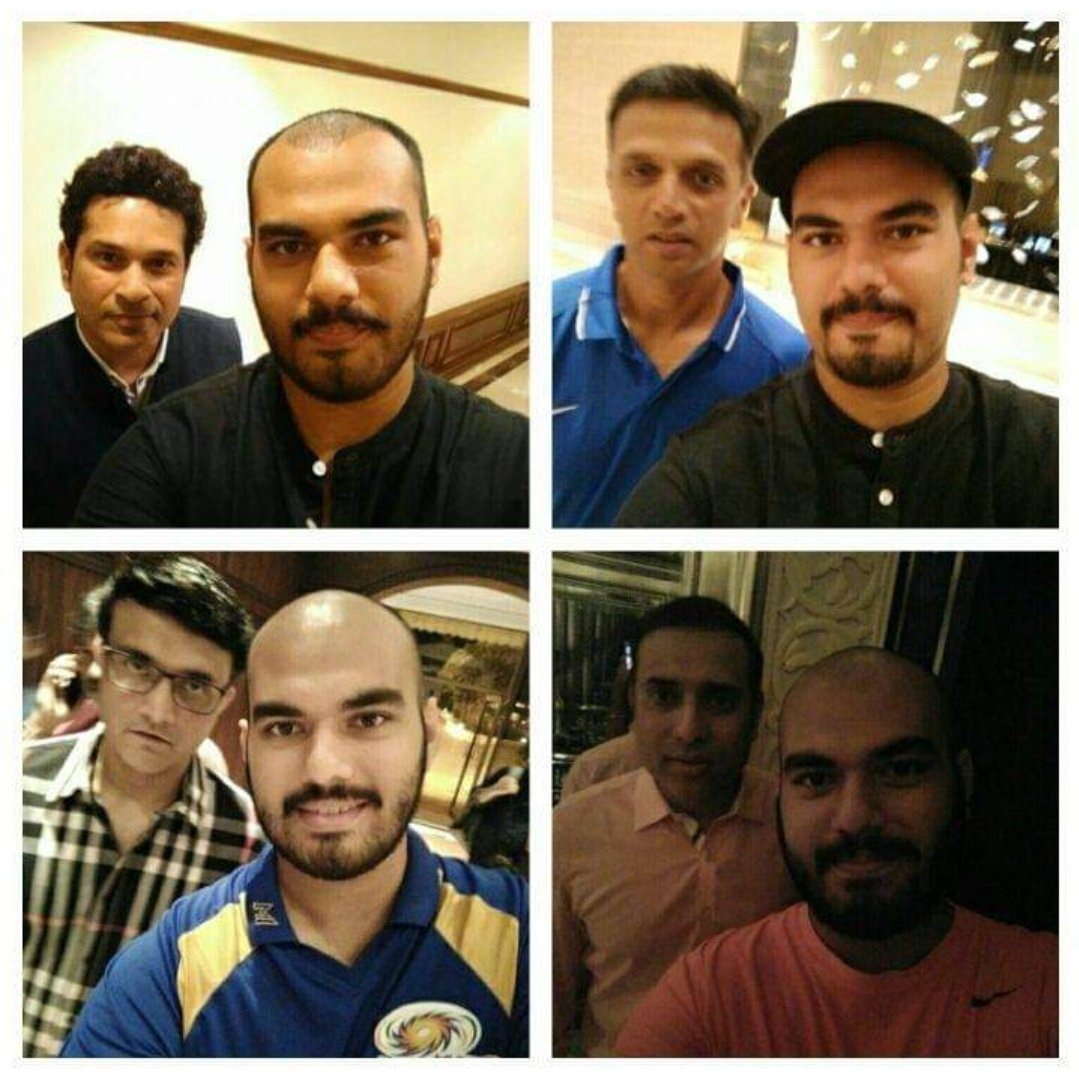 Indian batting at it's peak ❤️🙏  Fab 4 of Indian Cricket. Thank you for making our childhood awesome. https://t.co/TAV3fda5Gy