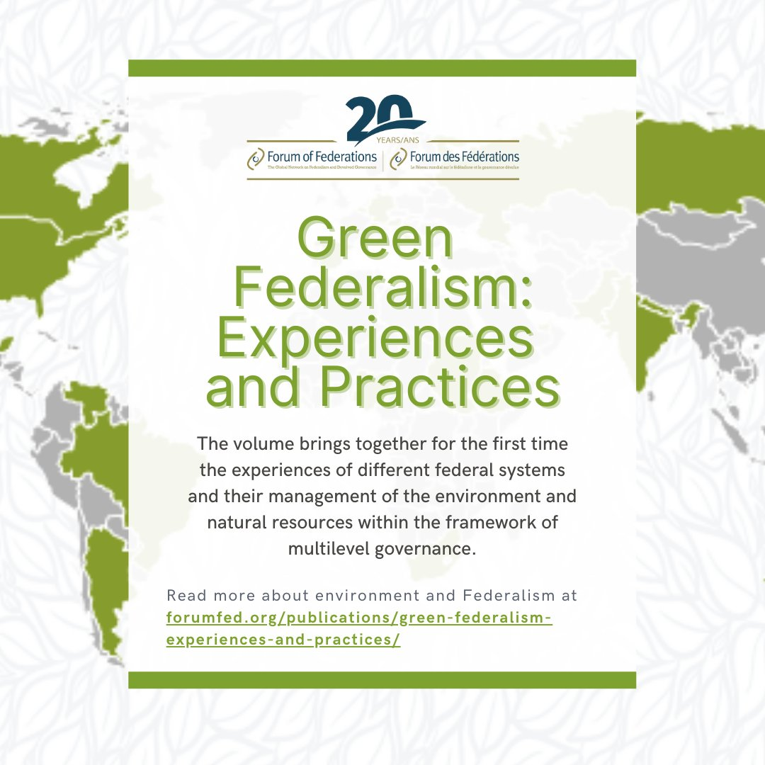 Check out this timeless publication from the @ForumFed library as we think about #WorldEnvironmentDay!  https://t.co/3LPetHZKlT https://t.co/3tlErPboo8