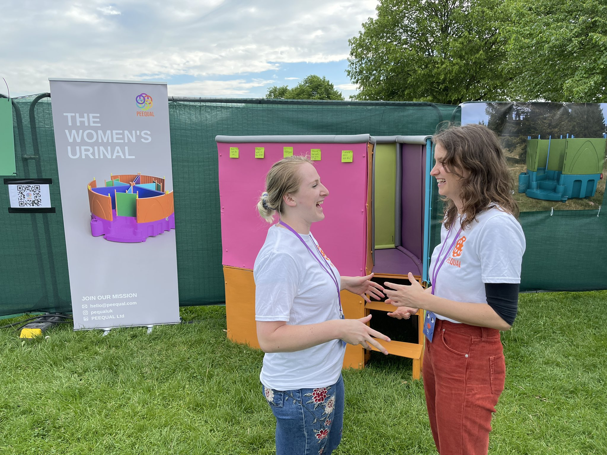 """Anthony Ward on Twitter: """"Amber Probyn & Hazel McShane are showing their  Peequal - a urinal for women - at tonight's @comedygarden… """""""