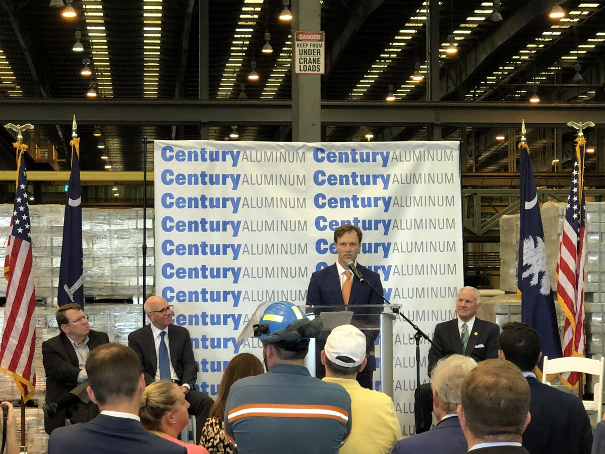 test Twitter Media - Incoming CEO Jesse Gary remarks on the importance of strengthening America's aluminum industry and creating new jobs right here in South Carolina. #MtHollyFamily https://t.co/EC28X4xuQq