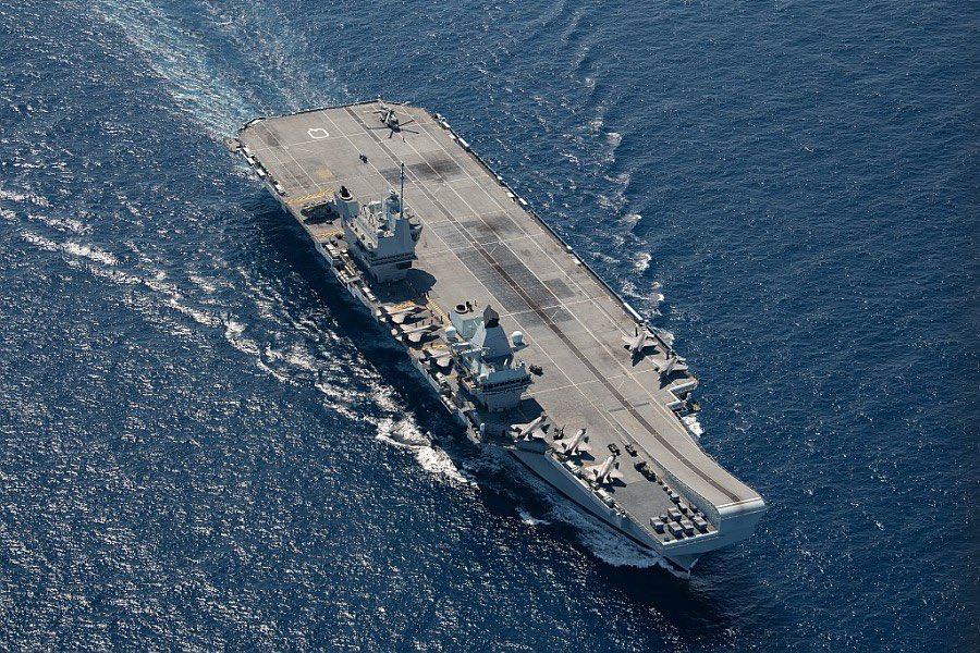 Les deux navires de guerre les plus puissants d'Europe se sont rencontrés en Méditerranée E2-orwfWYAMRX-9?format=jpg&name=900x900