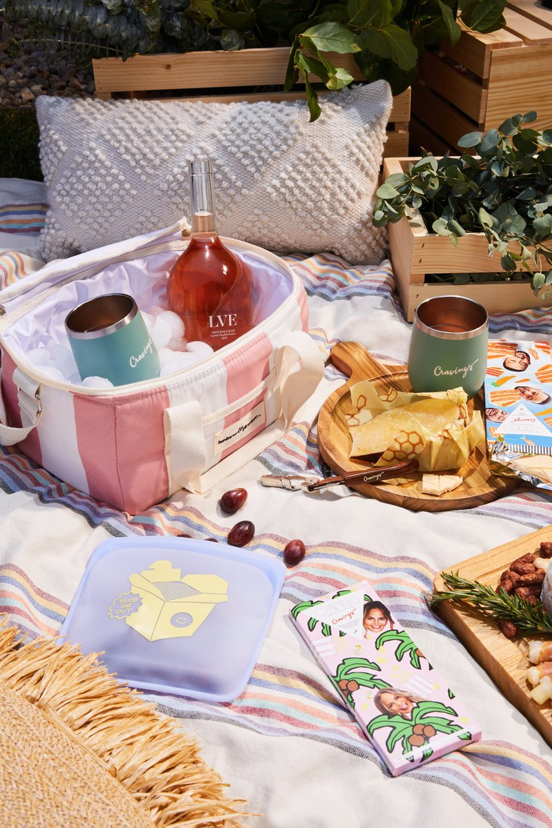 You bring the food and wine, we've got everything else covered. Level up your picnic game with this chic pink cooler filled with insulated wine tumblers, a comfy blanket to sprawl out on, and more. It's a one-stop shop for your next picnic! Shop here 👉 https://t.co/4lsBmf44iY https://t.co/bwDDO0SbgO