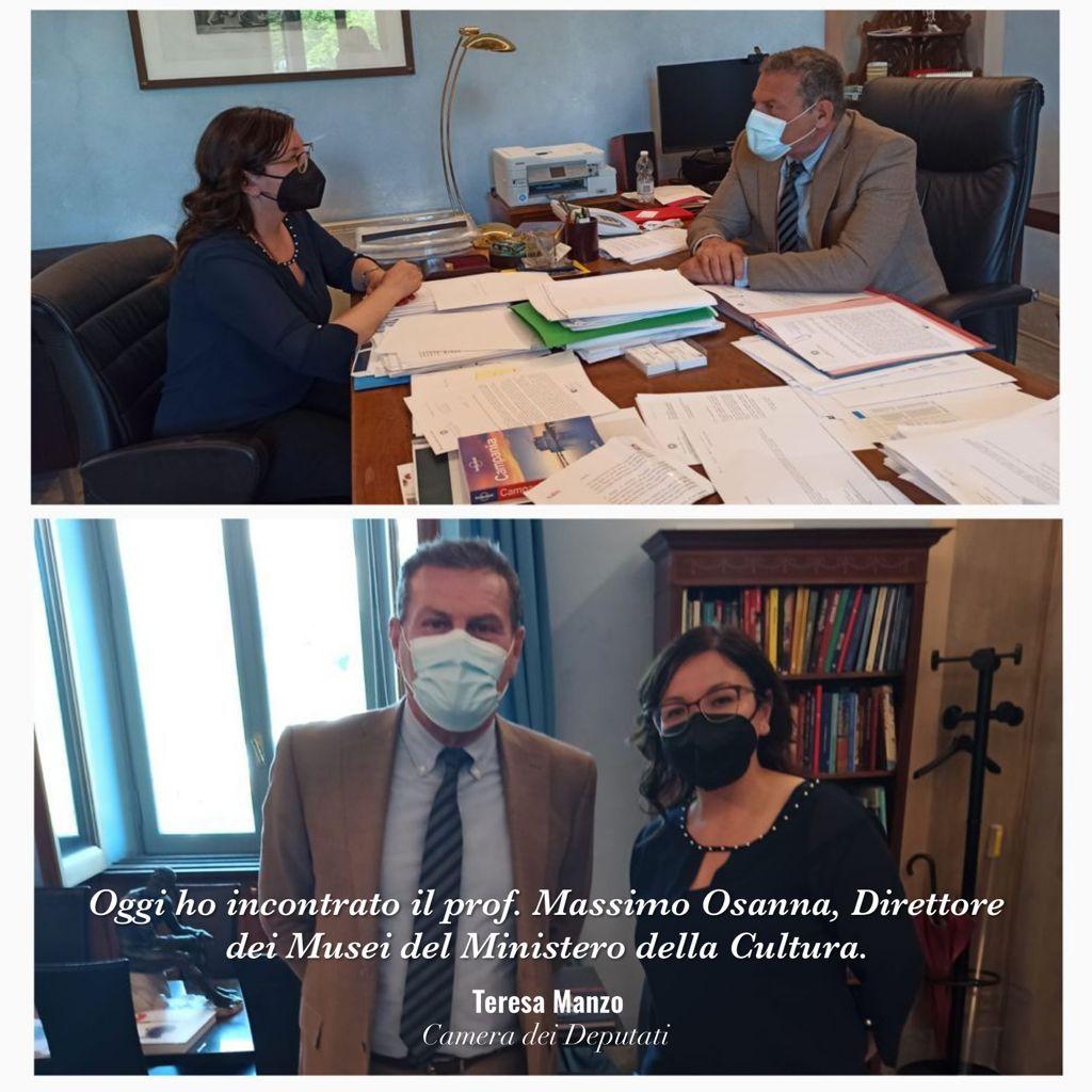 Oggi ho avuto un nuovo confronto con il Direttore dei @museitaliani, Massimo Osanna, per un aggiornamento sulle prospettive di valorizzazione di cui, grazie ai fondi previsti dal #PNRR, potrebbero beneficiare i siti dell'area Sud della Provincia di #Napoli https://t.co/IOyUtwPyZ4 https://t.co/WtGomnRLPu