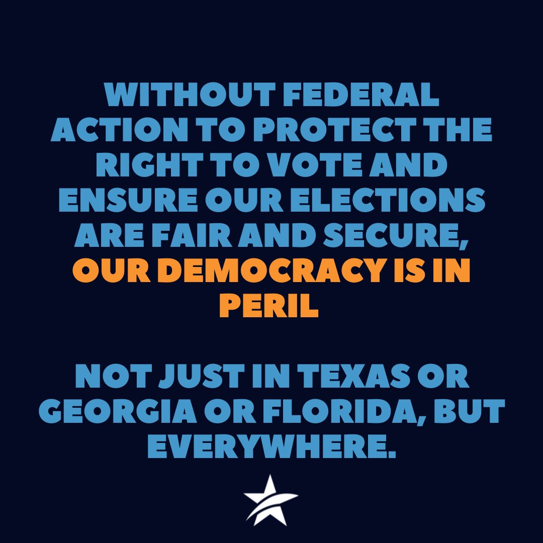 We are not done fighting for our democracy.  Texans need the #ForThePeopleAct. Read our op-ed in USA Today: https://t.co/ml11nOsgj2  #txdeservesbetter https://t.co/bn7nkKV9N4