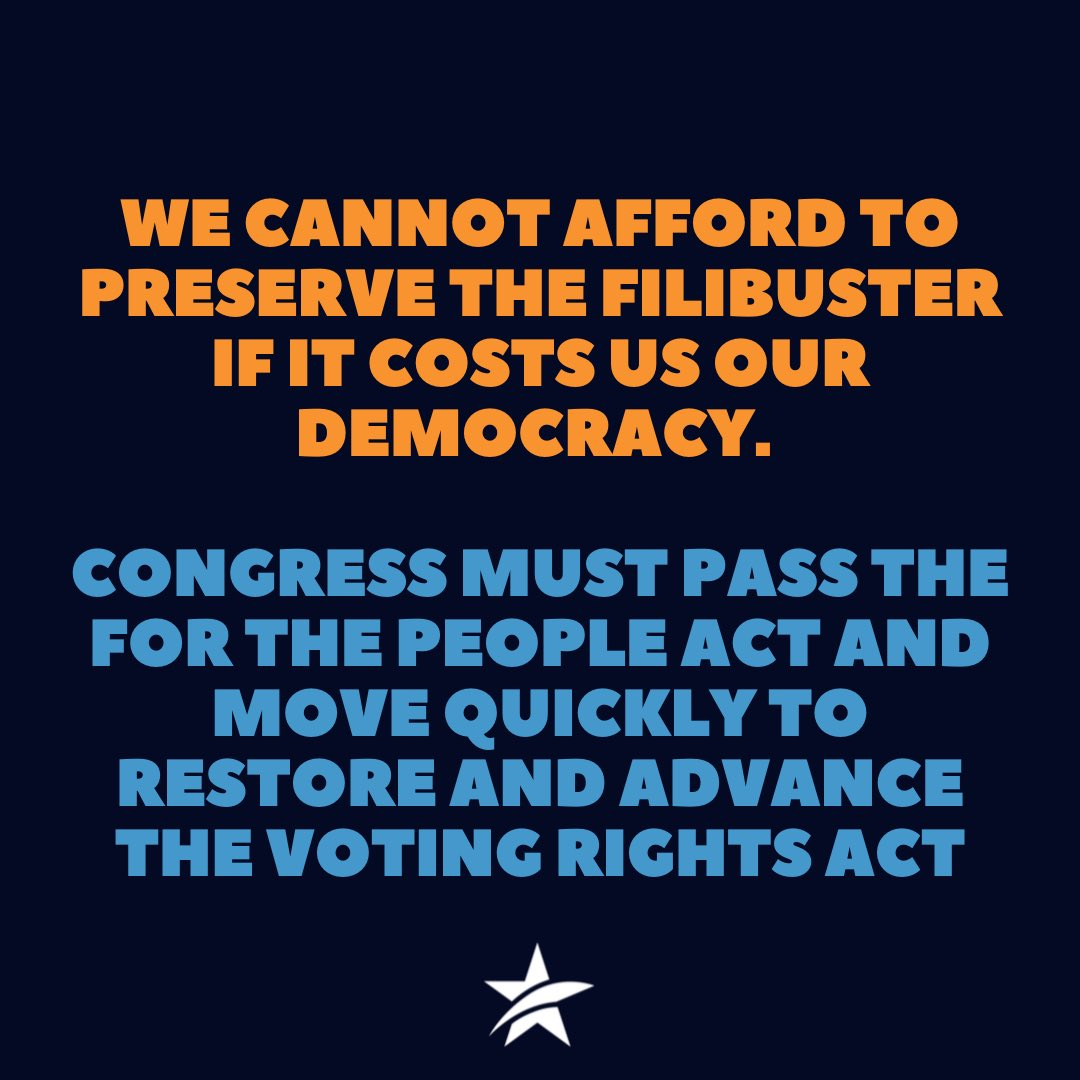 We are not done fighting for our democracy.  Texans need the #ForThePeopleAct. Read our op-ed in USA Today:   #txdeservesbetter