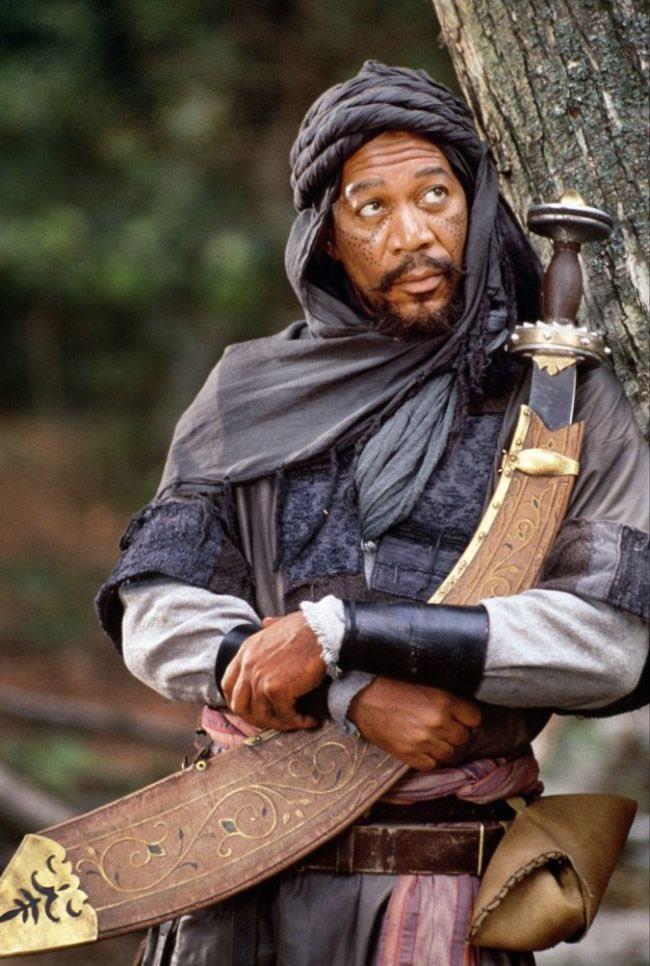 Happy Birthday Mr. Morgan Freeman!   Robin Hood: Prince of Thieves (1991) Azeem