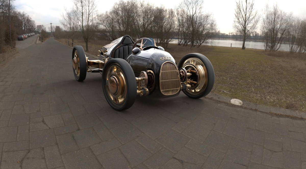 #Car 🚘 Awesome of the Day ⭐ ➡️ Black #Steampunk-ish ⚙️ Roadster via @SteampunkRadio #SamaCars 🚗 ➡️ View More #SamaCollection 👉 https://t.co/Kugls40kPu