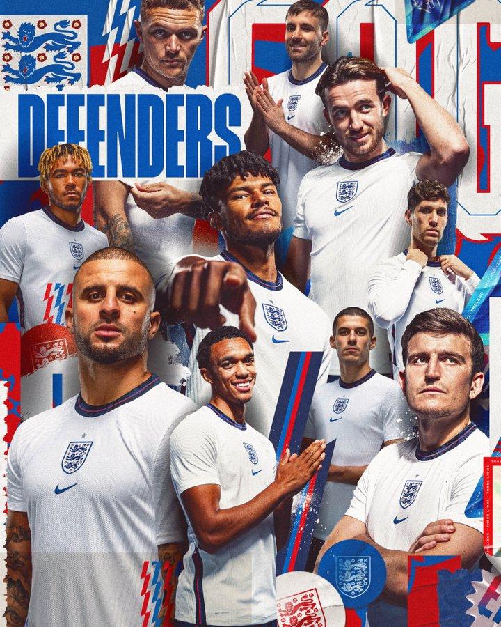 Pemain bertahan Timnas Inggris