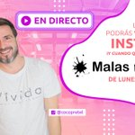 Image for the Tweet beginning: 🔴 ¡¡Arranca #MalasInfluencias!! Conéctate con