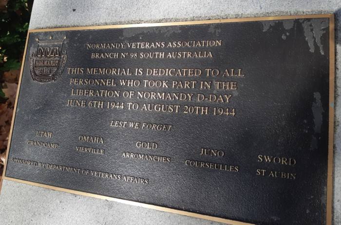 test Twitter Media - On June 6th we will remember the service and sacrifice of the Normandy Landings and battles to liberate Europe. This Normandy Memorial is on the Pathway of Honour, between Kintore Avenue and King William Road, Adelaide. Lest We Forget. https://t.co/BHKEZBeEtb