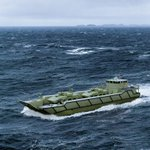 Visit us at @LandForces_Expo to learn more about @Navantia_AU's Australian designed KODAL Class Independent Landing Craft & Amphibious Vehicle for the @AustralianArmy. Future proof next generation #Australian #military capability https://t.co/L6fXiAAQa5