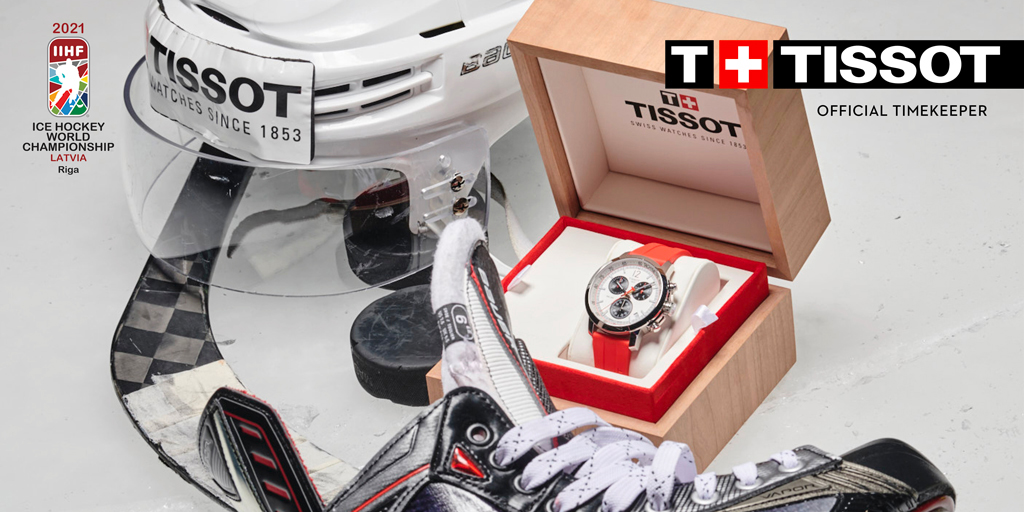 🏆Try your luck and win a PRC200 IIHF watch! Enter the competition from May 24th - June 6th 2021 by taking part in a quiz ➡️ https://t.co/iAC25avV08 #Tissot #ThisIsYourTime #TissotOfficialTimeKeeper https://t.co/Xk078qYS8I