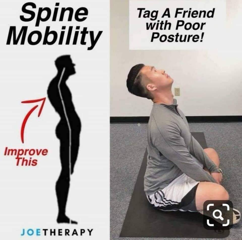 Just leave it here, in case y'all need this, therapy how to fix ur posture.