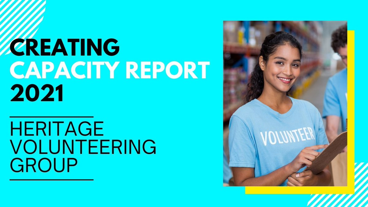Great report here advocating for a more strategic approach to #volunteering and better access to resources/training 👇 We're proud to say that all our #RebuildingHeritage support is open to those in voluntary as well as paid positions 🤗