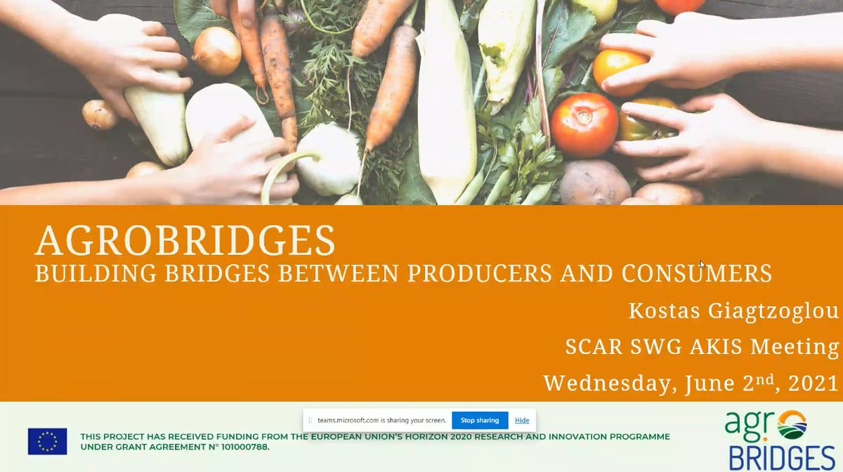 Innovating to reconnect producers & consumers and boost sustainability: very interesting projects on short food supply chains & public procurement, inc. @agrobridges_EU, @FairchainEU, @COFRESH_H2020, @cocoreado & @ploutos_h2020. 🌱🍎🍽️ 🌐Browse the @EIPAGRI_SP website for SFSCs! https://t.co/o3TByh7agu