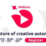 Image for the Tweet beginning: [WEBINAR] The Future of Creative