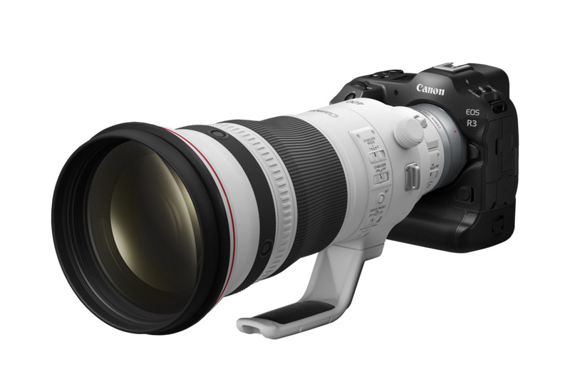 Canon's new AI autofocus system will let the EOS R3 track race cars