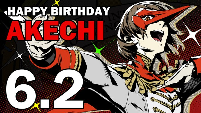 Happy birthday to the Detective Prince, Goro Akechi! May the scales of justice always tip in your favor....