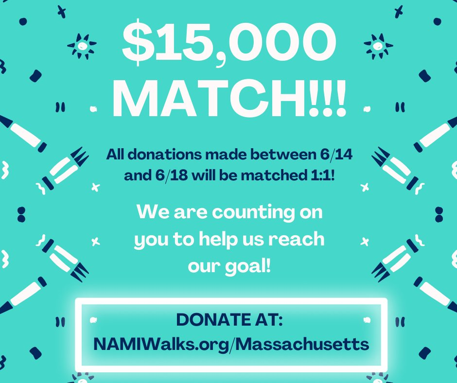 LAST CALL! Today is the final day of our $15,000 match! This means that it's YOUR last chance to give, but also that any amount will be DOUBLED! We are at 96% of our goal and we are counting on you to help get us there!