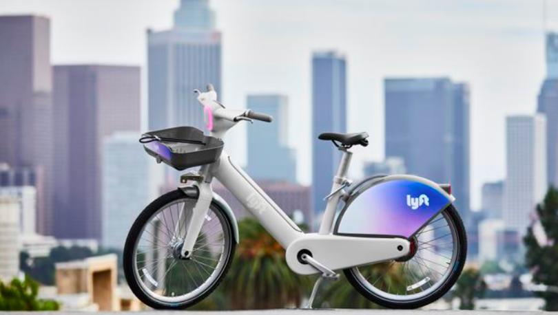 Lyft redesigns its electric bicycle with built-in screen and speakers