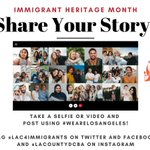 Image for the Tweet beginning: June is #ImmigrantHeritageMonth! We'll be